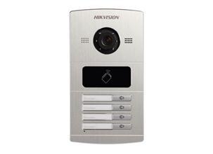 Hikvision intercom DS-KV8402-IM, 4 beldrukkers, IR verlichting