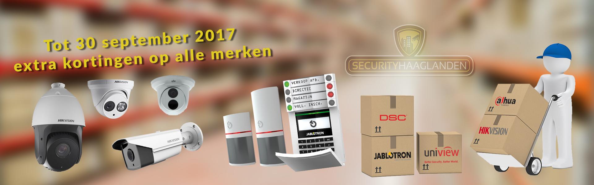 Opruiming Hoge Kortingen Hikvision Dahua Jablotron 100 DSC viscoo uniview alarmsteem full hd camerasysteem
