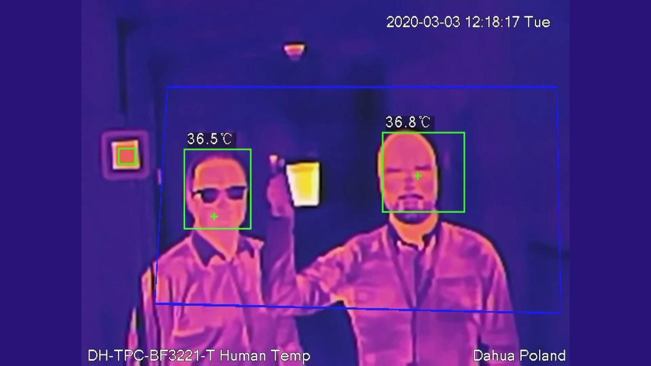 Thermografische Koorts Detectie hikvision